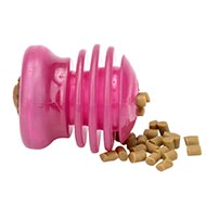 Ribbed Dental Dog Treat Toy for Medium Size Dogs