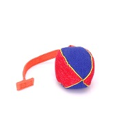 Soft Indestructible Dog Ball with Handle for Small & Middle Dog