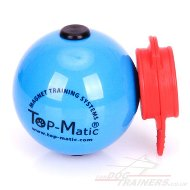 Top-Matic Soft Plastic Dog Ball with a MAXI Power-Clip