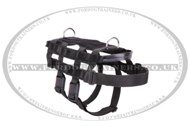 Reliable Working Service Dog Harness with 2 Cast D-rings