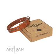 "Choose a Perfect Gift - Collar for Big Dogs ""Galaxy"" FDT Artisan"