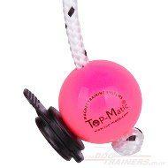 Top Matic Fun Ball for Puppies to Medium Dogs & Multi Power-Clip