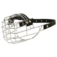 Basket Dog Muzzle for Basset Hound - Most Humane Dog Muzzle