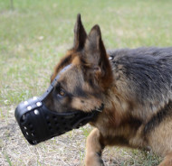 Working Dog Muzzle for GSD | Strong Dog Muzzle for Agitation