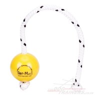 Fun Ball Mini SOFT Yellow for Small & Young Dogs